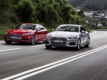 2017 Audi S5 and A5