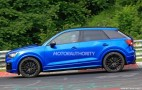 2017 Audi SQ2 spy shots