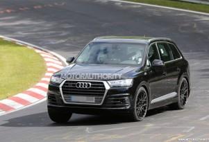 2017 Audi SQ7 spy shots - Image via S. Baldauf/SB-Medien