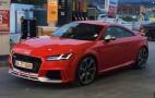 2017 Audi TT RS leaked