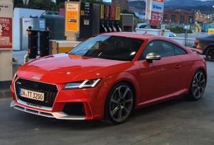 2017 Audi TT RS leaked - Image via autogespot_spain