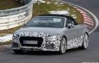 2017 Audi TT RS Roadster spy shots