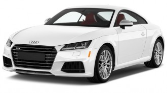 2017 Audi TTS 2.0 TFSI Angular Front Exterior View