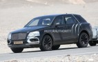 2017 Bentley Bentayga Spy Shots And Video