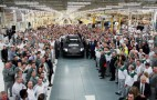 First Bentley Bentayga Rolls Off Assembly Line