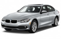 2017 BMW 3-Series 320i Sedan Angular Front Exterior View