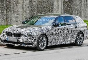 2017 BMW 5-Series Sports Wagon (Touring) spy shots - Image via S. Baldauf/SB-Medien