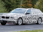 2017 BMW 5-Series Touring spy shots - Image via S. Baldauf/SB-Medien