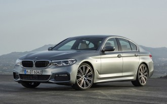 Tech-laden 2017 BMW 5-Series arrives, looks like mini-7