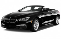 2017 BMW 6-Series 640i Convertible Angular Front Exterior View