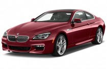 2017 BMW 6-Series 650i Coupe Angular Front Exterior View