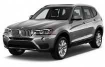 2017 BMW X3 sDrive28i Sports Activity Vehicle Angular Front Exterior View