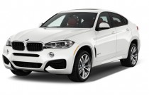 2017 BMW X6 sDrive35i Sports Activity Coupe Angular Front Exterior View