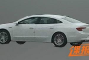 2017 Buick LaCrosse spy shots - Image via Autohome