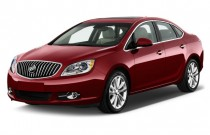 2017 Buick Verano 4-door Sedan Leather Group Angular Front Exterior View