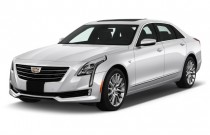 2017 Cadillac CT6 Sedan 4-door Sedan 3.6L AWD Angular Front Exterior View