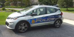 Is this the country's first Chevrolet Bolt EV police car?