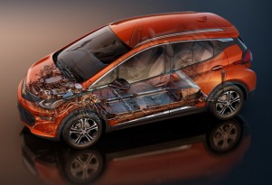 Chevy Bolt EV not on shared architecture, but platform name secret, GM says