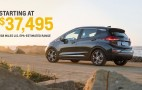 2017 Chevrolet Bolt EV priced from $37,495
