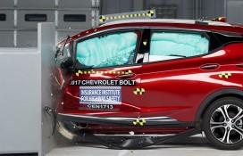2017 Chevrolet Bolt EV crash
