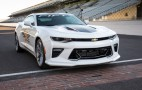 50th Anniversary Camaro SS named official pace car of 2016 Indy 500