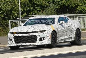 2017 Chevrolet Camaro ZL1 spy shots - Image via S. Baldauf/SB-Medien