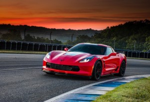 2017 Chevrolet Corvette Grand Sport, red