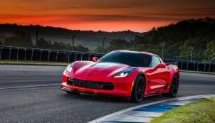 2017 Chevrolet Corvette Grand Sport, red
