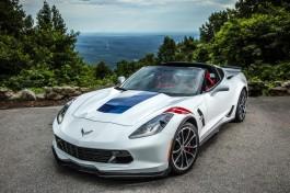 2017 Chevrolet Corvette Grand Sport, white