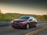2017 Chevrolet Cruze Diesel sedan rated at 37 mpg combined