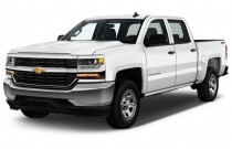 "2017 Chevrolet Silverado 1500 2WD Crew Cab 143.5"" LS Angular Front Exterior View"