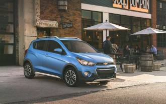 2017 Chevrolet Spark Activ: A low-top hiking shoe for the road