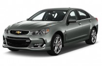 2017 Chevrolet SS 4-door Sedan Angular Front Exterior View