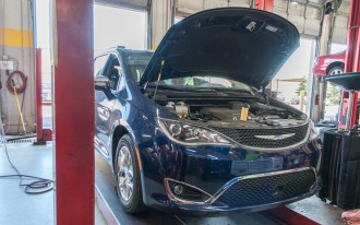 2017 Chrysler Pacifica Limited long-term  test: the first service stop
