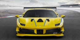 2017 Ferrari 488 Challenge race car
