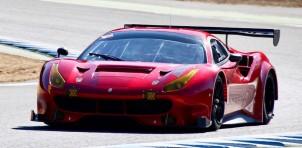 2017 Ferrari 488 GT3 race car