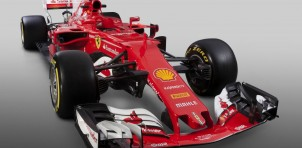 2017 Ferrari SF70H Formula One race car
