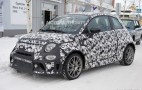 2017 Fiat 500 Abarth spy shots