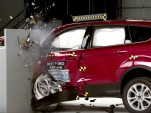 2017 Ford Escape IIHS Small Overlap Crash Test