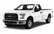 2017 Ford F-150 XL 2WD Reg Cab 6.5' Box Angular Front Exterior View