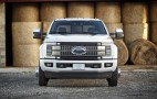 2017 Ford Super Duty Trucks Go Aluminum But Keep Big V-8, V-10 Engines