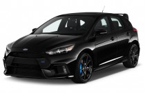 2017 Ford Focus RS Hatch Angular Front Exterior View