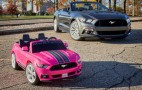 Power Wheels Ford Mustang has traction and stability control