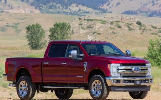 Ford F-250 scores up to 5 stars in crash test