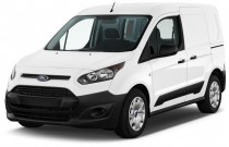 2017 Ford Transit Connect Van XL SWB w/Rear Liftgate Angular Front Exterior View