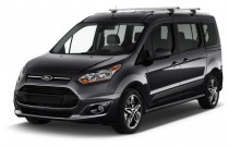 2017 Ford Transit Connect Wagon Titanium LWB w/Rear Liftgate Angular Front Exterior View