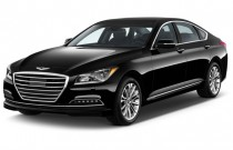 2017 Genesis G80 3.8L AWD Angular Front Exterior View