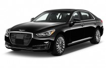 2017 Genesis G90 5.0L Ultimate RWD Angular Front Exterior View