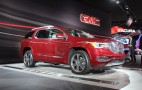 2017 GMC Acadia Drops Weight, Ups The Power: Live Photos