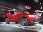 2017 GMC Acadia  -  2016 Detroit Auto Show live photos